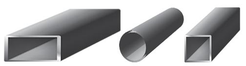 Round Steel Tubes Square Steel Tube Telescoping Steel Tube