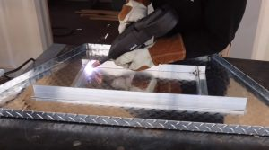 welding diamond plate toolbox