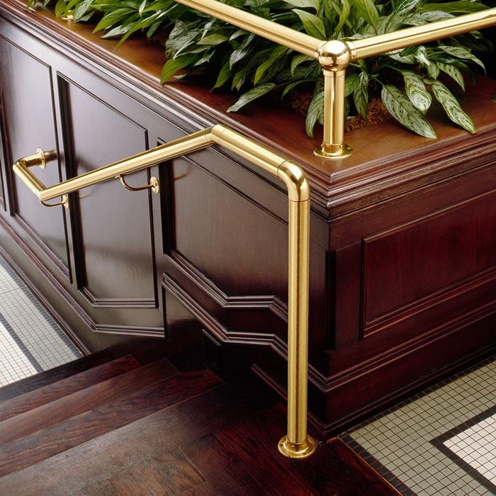 Brass Railing Components