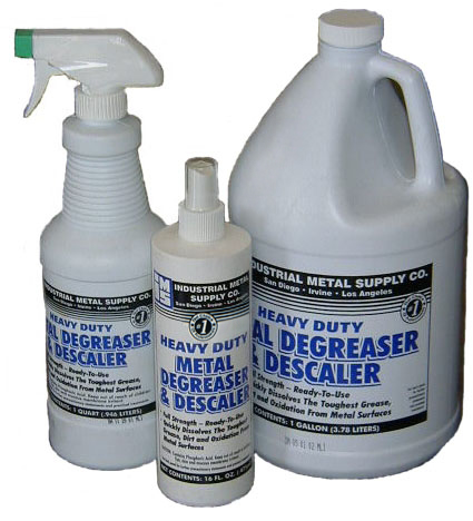 metal cleaners & degreasers