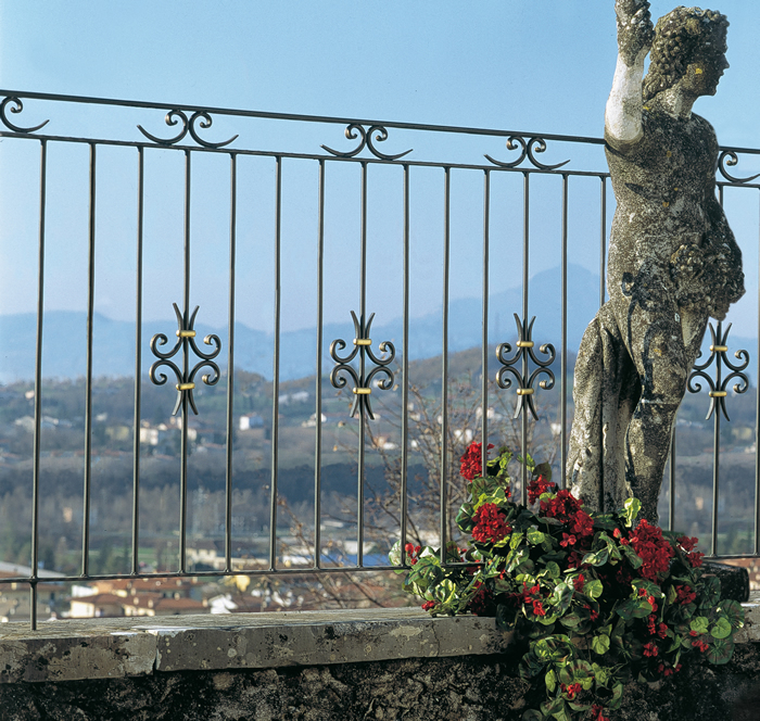 wrought iron pickets & balusters