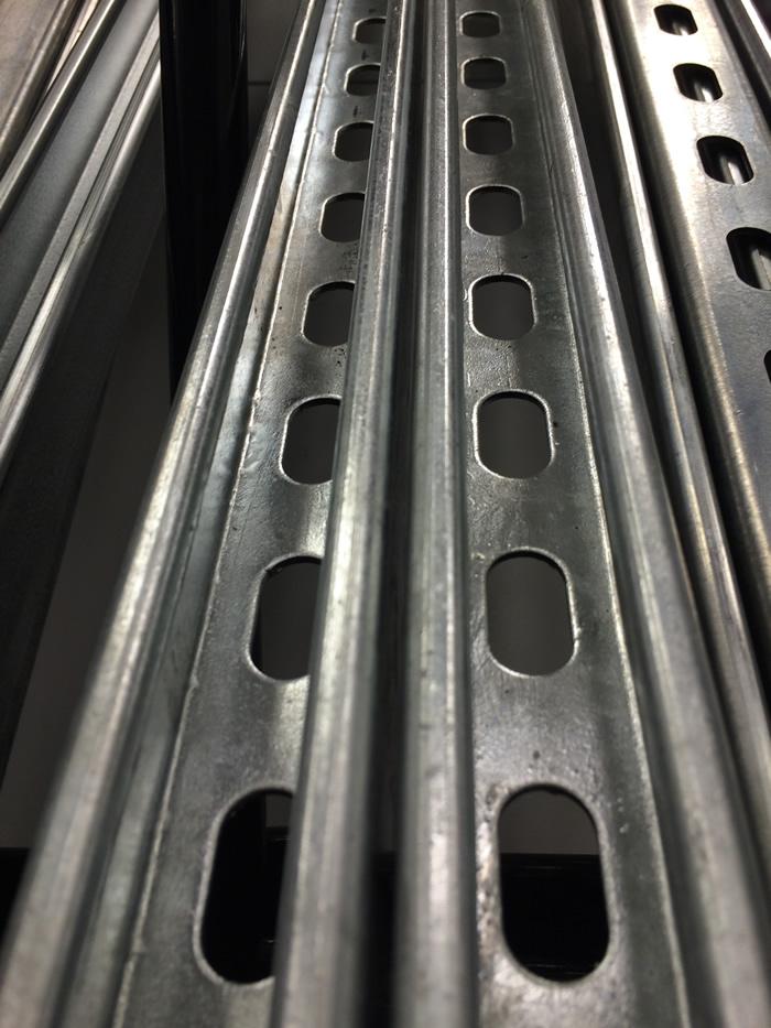 Galvanized Steel Strut Channel Painted Steel Strut Channel