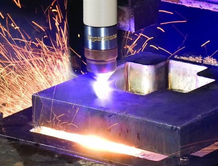 Hi Def Plasma Cutting For Metal Materials Industrial