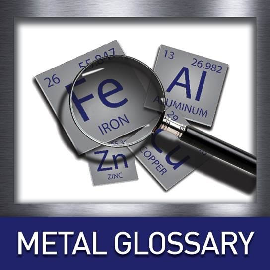 glossary of metal terms