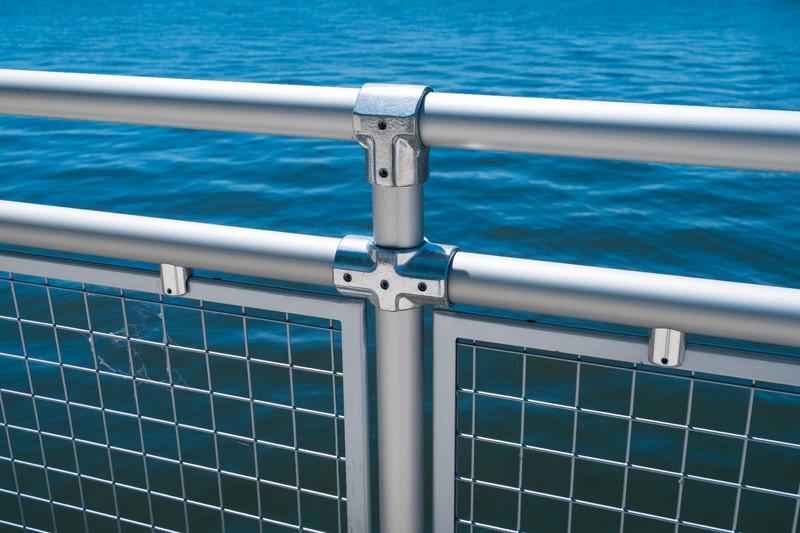 Aluminum Rail Fittings | Hollaender Speed-Rail®